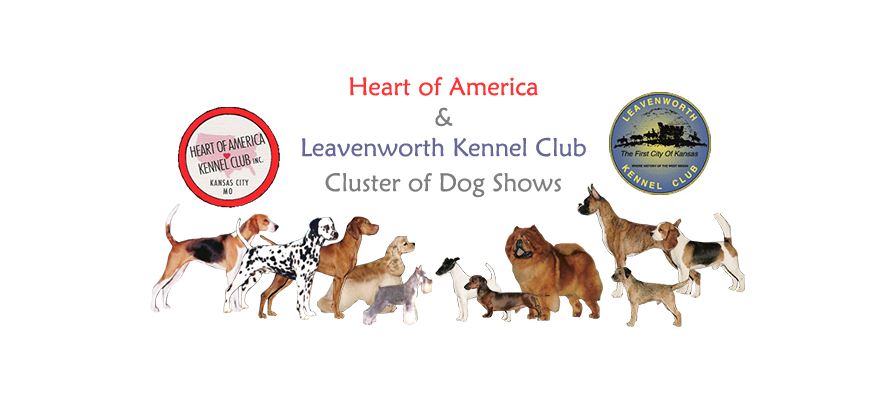 Heart of America Kennel Club & Leavenworth Kennel Club Cluster of Dog Shows